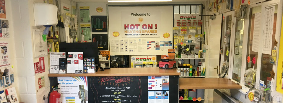 Welcome to HOT ON ! Heating Spares